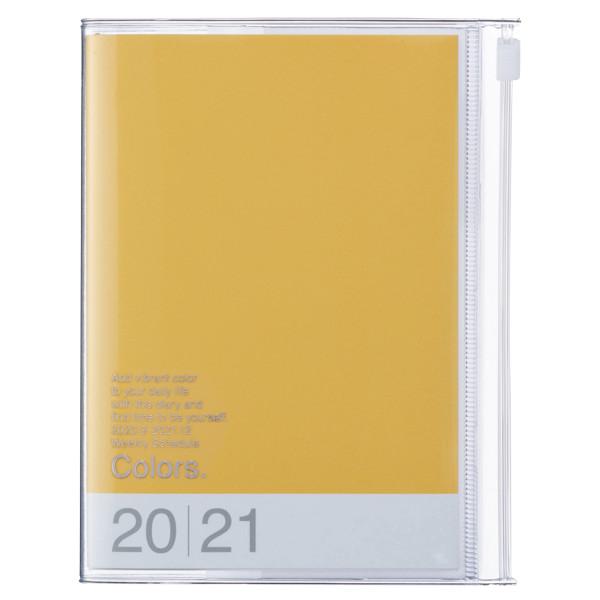 A6 Kalender 2021 COLORS, Gelb von MARK'S TOKYO EDGE