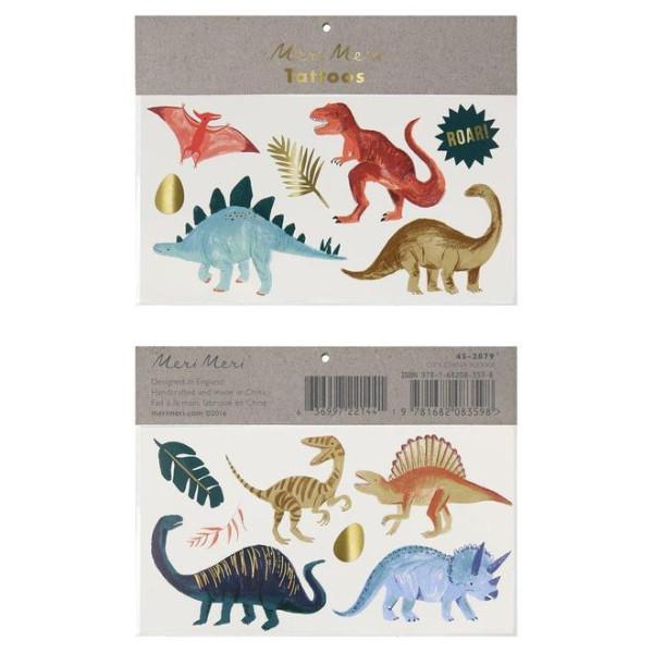 Tattoos Dinosaurier Kingdom von Meri Meri