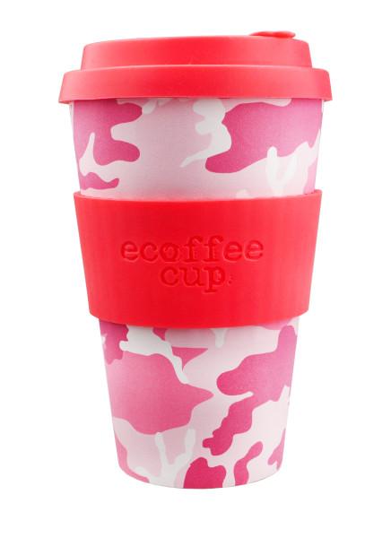 To Go Becher Miss Wasilla + Deckel mit Tropfschutz von ecoffee cup