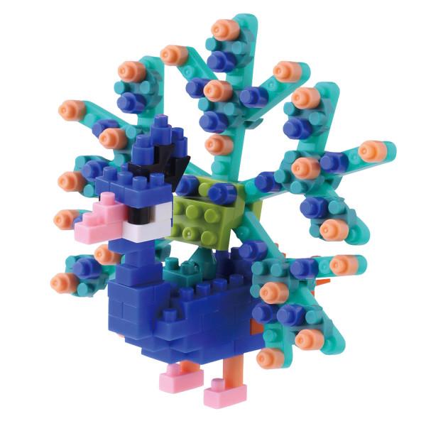 Mini Bausteine Nanoblock Pfau von Nanoblock