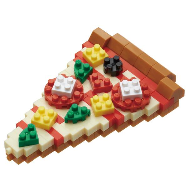 Mini Bausteine Nanoblock Pizza von Nanoblock