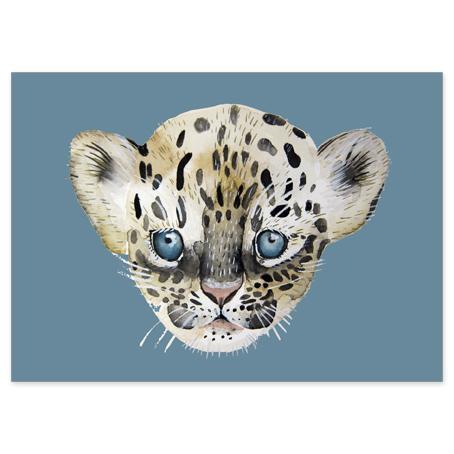 nuukk Postkarte Leopard