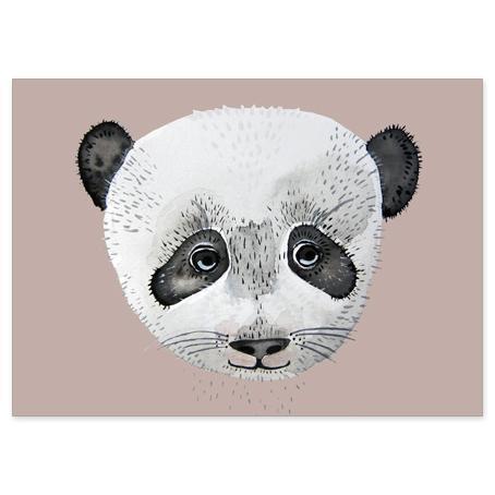 nuukk Postkarte Panda