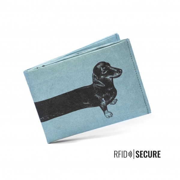 Portemonnaie SECURE Sausage Dog von paprcuts
