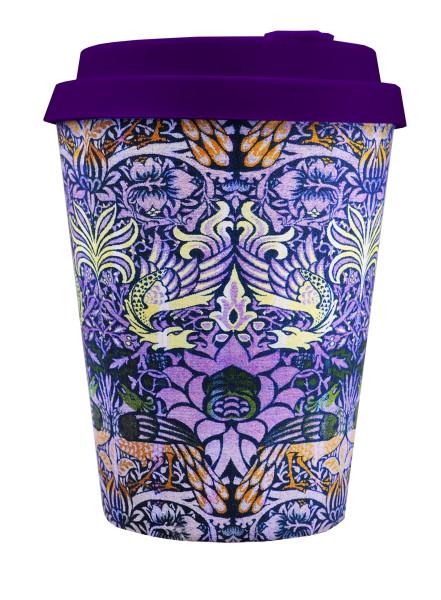To Go Becher Peacock + Deckel mit Tropfschutz von ecoffee cup