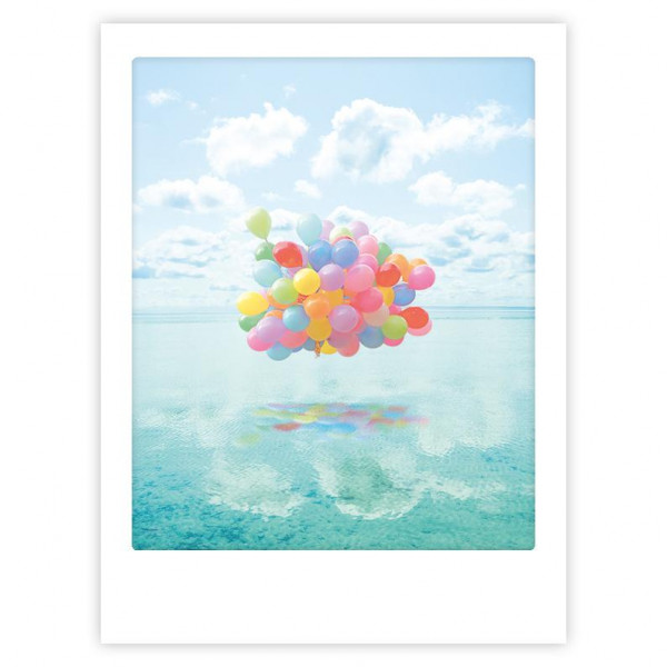 """Poster """"Floating balloons"""" von Pickmotion"""