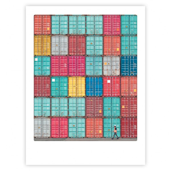"Poster ""Real life Tetris"" von Pickmotion"