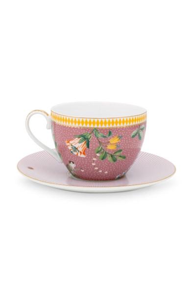 Tasse mit Untertasse La Majorelle Pink von PIP Studio