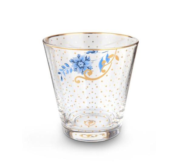 PIP Studio Wasserglas Royal Golden Dots