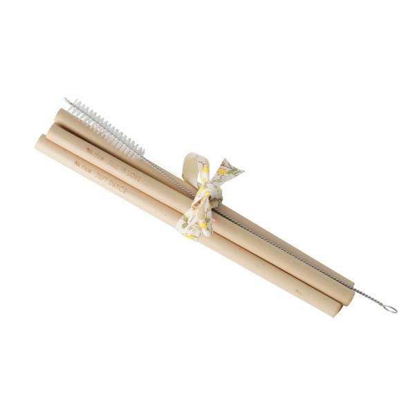 Bambus Strohhalme Set 5 Stk. von Rice