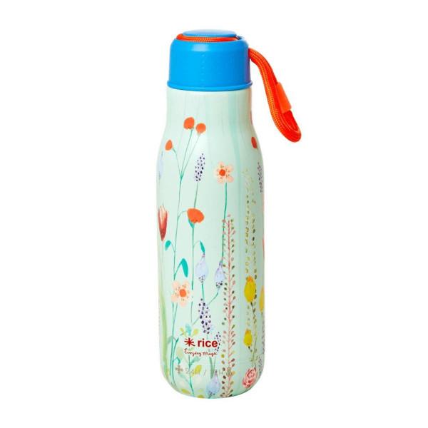 Edelstahl Thermo Trinkflasche Summer Flowers von Rice