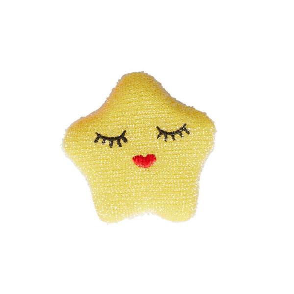 Küchenschwamm Stern Gelb von Rice