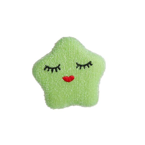 Rice Küchenschwamm Stern Grün