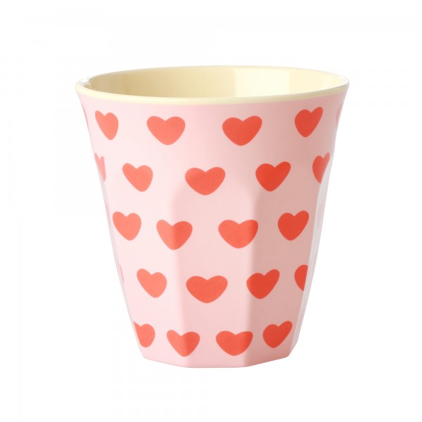 Melamin Becher Sweet Hearts von Rice