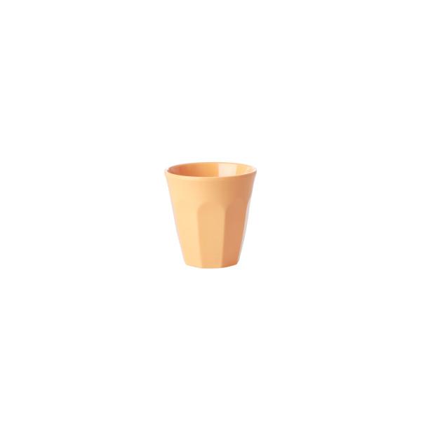 Melamin Espressobecher Let's Summer Orange von Rice