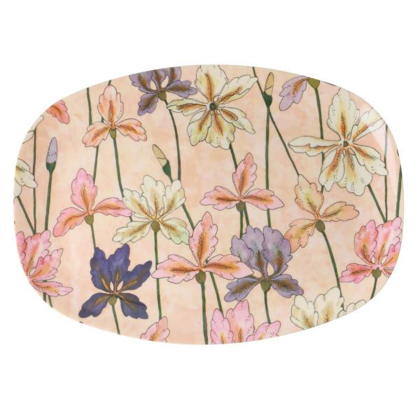 Melamin Servierteller Iris von Rice