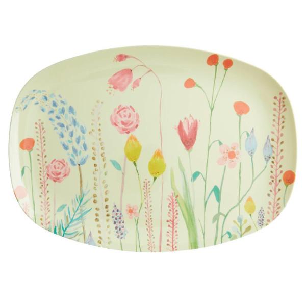 Melamin Servierteller Summer Flowers von Rice