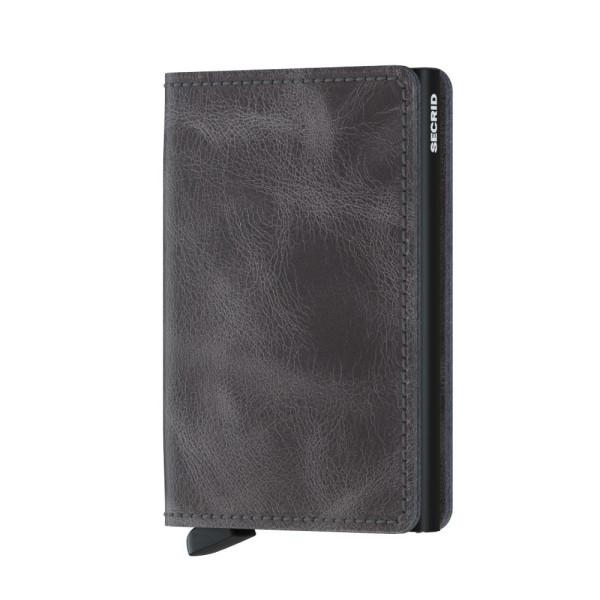 Börse Slimwallet Vintage Grey-Black von Secrid