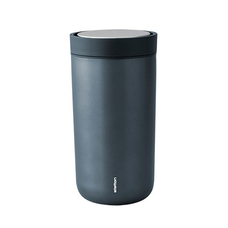 To Go Becher Click 0,2L Metallic Blue von stelton