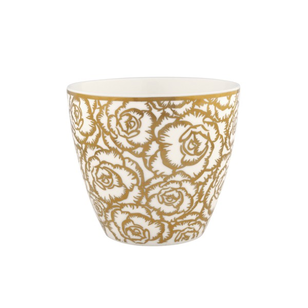 Latte Cup Blossom Gold