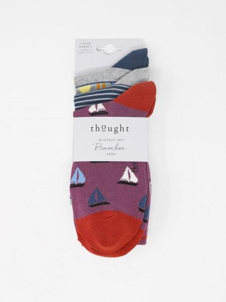 Thought Socken 3er Set Hope Nautical