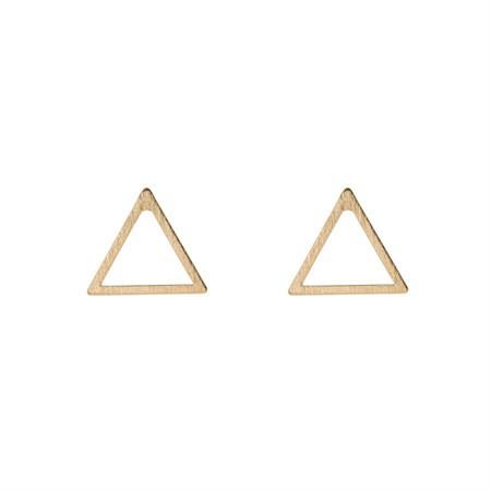 Ohrringe Triangel Gold von Timi