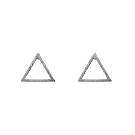 Ohrringe Triangel Silber von Timi