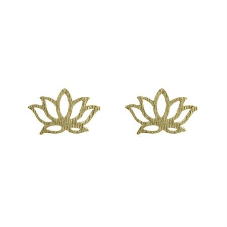 Ohrstecker Lotus Gold von Timi