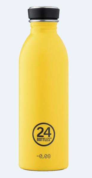 Trinkflasche Taxi Yellow 0,5L von 24bottles