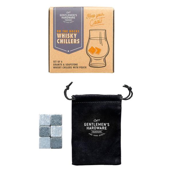 Eiswürfelsteine Whiskey Chillers von Wild & Wolf