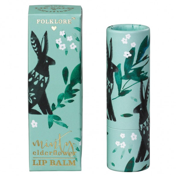 Lip Balm Folklore Minty Edelflower von Wild & Wolf
