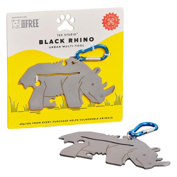 Multi-Tool Black Rhino Urban von Wild & Wolf
