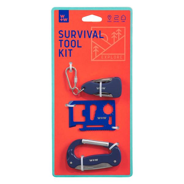 Wild & Wolf Survival Tool Kit